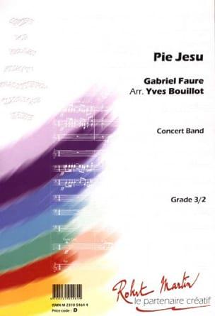 Pie Jesu - FAURÉ - Partition - ENSEMBLES - laflutedepan.com