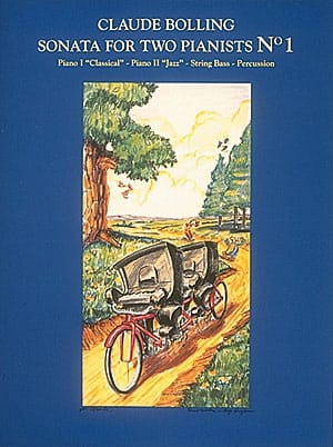 Sonata For Two Pianists N° 1 - Claude Bolling - laflutedepan.com