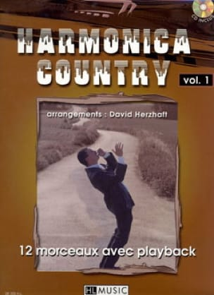 Harmonica Country Volume 1 - Traditionnel - laflutedepan.com