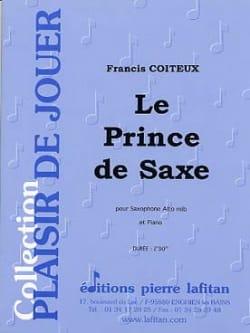 Le Prince de Saxe Francis Coiteux Partition Saxophone - laflutedepan