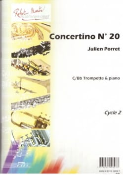 Concertino N° 20 Julien Porret Partition Trompette - laflutedepan