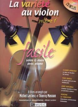 - The Violin Variety Volume 1 Easy - Partition - di-arezzo.es