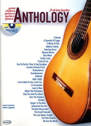 Anthology Volume 1 - Partition - Guitare - laflutedepan.com