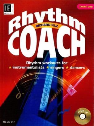 Rhythm Coach Richard Filz Partition Harmonie - laflutedepan