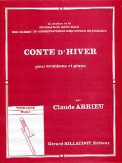 Conte D' Hiver Claude Arrieu Partition Trombone - laflutedepan