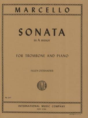 Sonate En la Mineur - Benedetto Marcello - laflutedepan.com