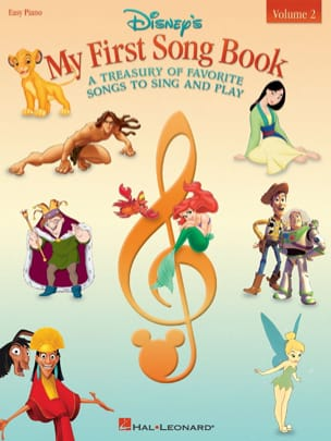 My first songbook volume 2 - easy piano DISNEY Partition laflutedepan