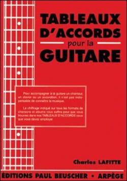 Tableaux D' Accords Pour la Guitare - laflutedepan.com