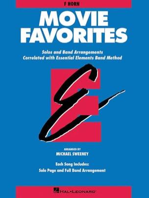 Movie Favorites - F Horn Partition ENSEMBLES - laflutedepan
