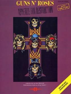 Appetite For Destruction Guns N' Roses Partition laflutedepan
