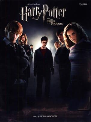 Harry Potter et l'ordre du Phénix Nicholas Hooper laflutedepan
