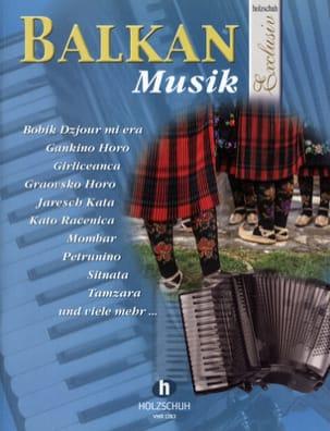 Holzschuh Exclusiv - Balkan musik Partition Accordéon - laflutedepan