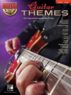 Guitar Play-Along Volume 136 - Guitar Themes Partition laflutedepan