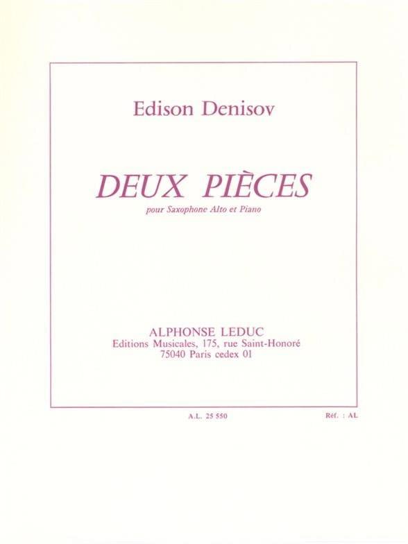 Deux Pièces - Edison Denisov - Partition - laflutedepan.com