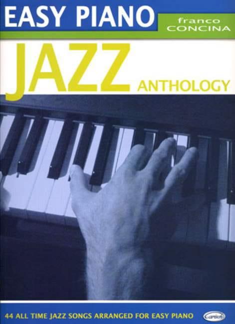 Easy Piano Jazz Anthology - Partition - Jazz - laflutedepan.com