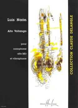 Alto Voltango Luis Naon Partition Saxophone - laflutedepan