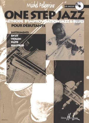 One Step Jazz Michel Pellegrino Partition Violon - laflutedepan