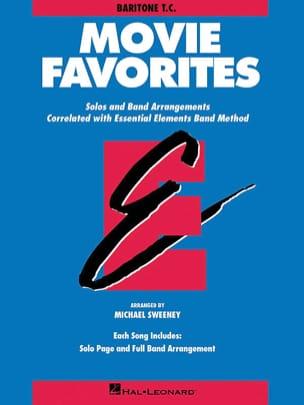 Movie Favorites - Baritone T.C. Partition ENSEMBLES - laflutedepan