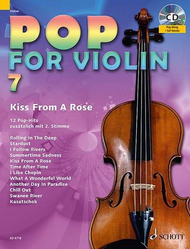 Pop for Violin Volume 7 - Kiss from a rose - laflutedepan.com
