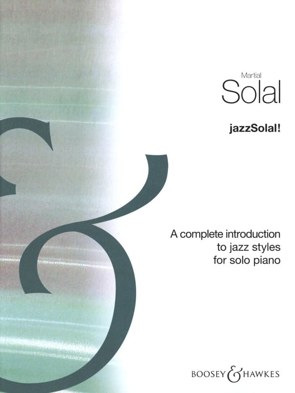 Jazz Solal ! Complet - Martial Solal - Partition - laflutedepan.com