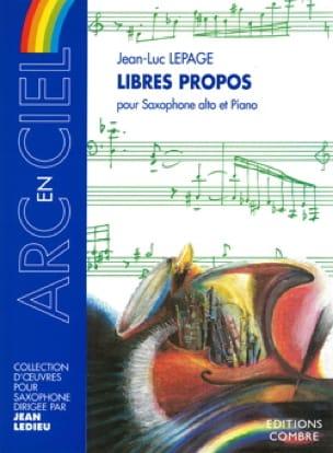 Libres Propos - Jean-Luc Lepage - Partition - laflutedepan.com