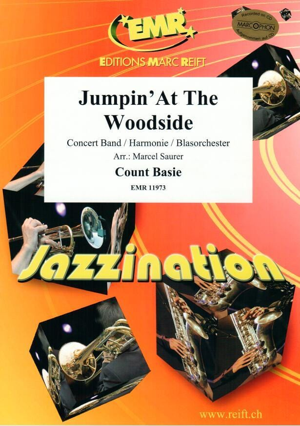 Jumpin' At The Woodside - Count Basie - Partition - laflutedepan.com