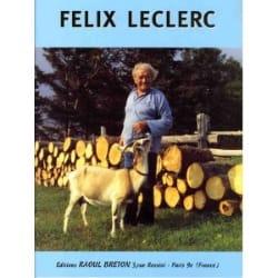 Les Chansons de Félix Leclerc - Le Canadien Félix Leclerc laflutedepan