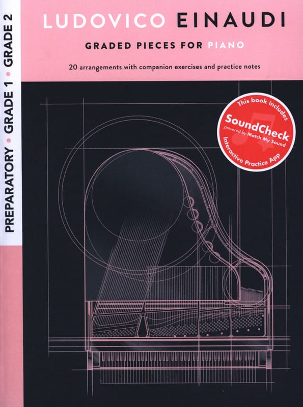 Ludovico Einaudi: Graded Pieces For Piano - Preparatory To Grade 2 - laflutedepan.com