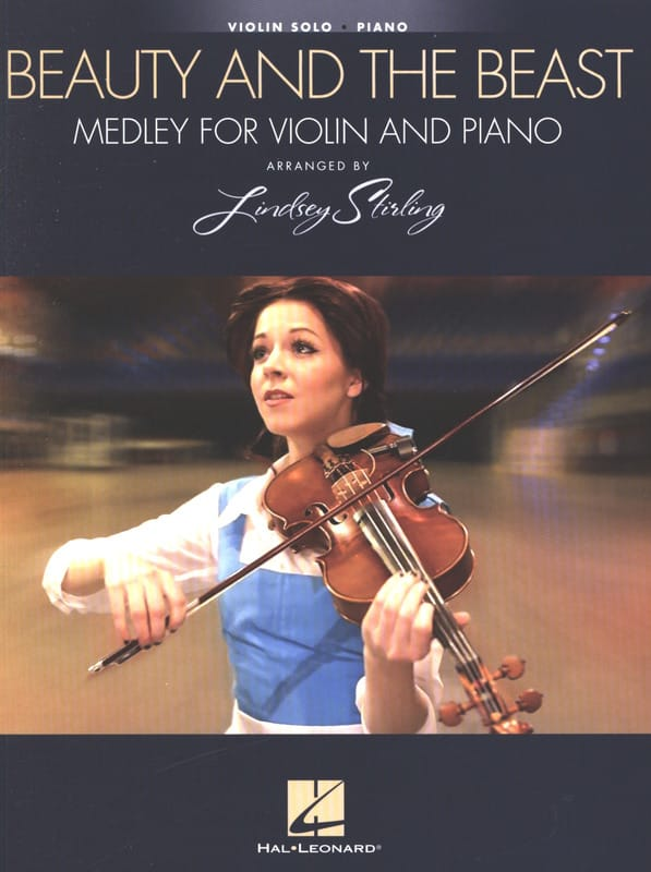 Beauty and the Beast - Lindsey Stirling - Partition - laflutedepan.com