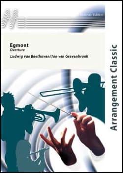 Egmont - Overture BEETHOVEN Partition ENSEMBLES - laflutedepan