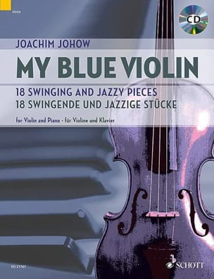 My Blue Violin Joachim Johow Partition Violon - laflutedepan