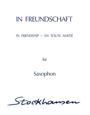 Karlheinz Stockhausen - In All Friendship In Freundschaft - Partition - di-arezzo.co.uk