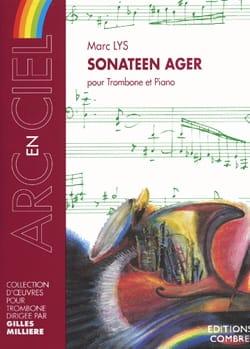 Sonateen Ager Marc Lys Partition Trombone - laflutedepan