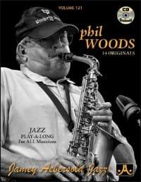 Volume 121 - Phil Woods METHODE AEBERSOLD Partition laflutedepan