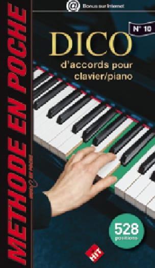 Music en poche N° 10 - Dico d'accords pour clavier/piano - laflutedepan.com