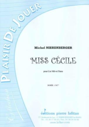 Miss Cécile - Michel Nierenberger - Partition - Cor - laflutedepan.com