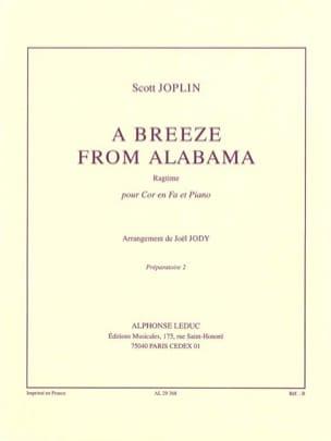 A Breeze From Alabama JOPLIN Partition Cor - laflutedepan
