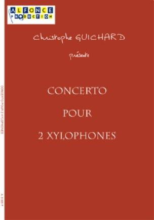 Concerto Pour 2 Xylophones Et Orchestre A Cordes Score + Parties - laflutedepan.com