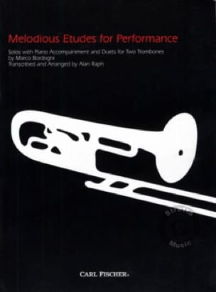 Melodious etudes for performance - laflutedepan.com