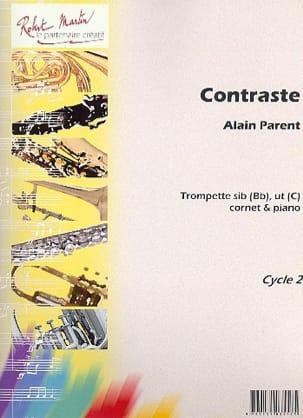 Contraste Alain Parent Partition Trompette - laflutedepan