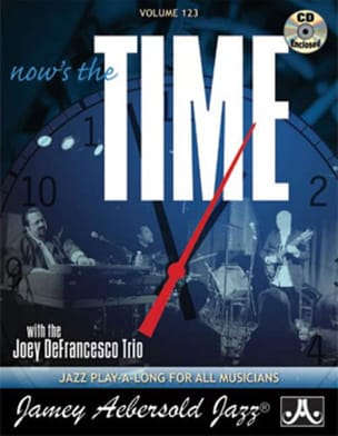 Volume 123 - Now's The Time METHODE AEBERSOLD Partition laflutedepan