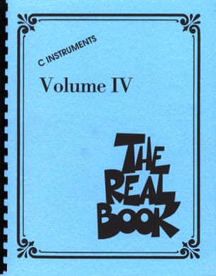The Real Book Volume 4 - C Instruments Partition Jazz - laflutedepan