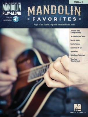 Mandolin Play-Along Volume 8 Mandolin Favorites laflutedepan