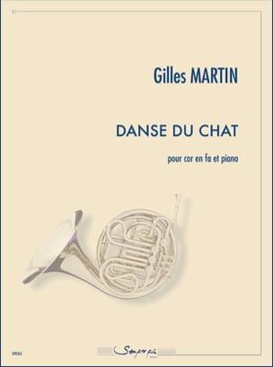 Danse du Chat Gilles Martin Partition Cor - laflutedepan
