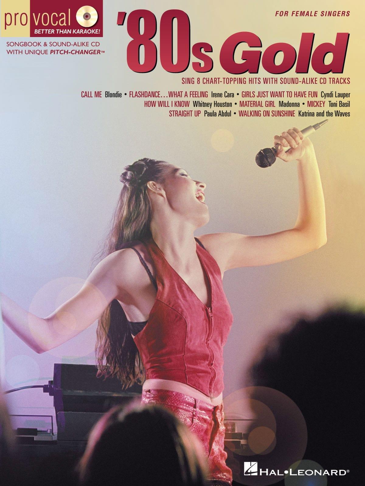 Pro Vocal Women's Edition Volume 4 - '80s Gold - laflutedepan.com