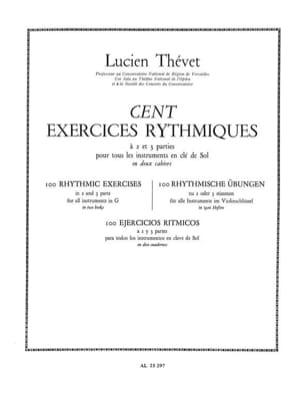 100 Exercices Rythmiques A 2 Parties Volume 1 - laflutedepan.com