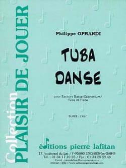 Tuba Danse Philippe Oprandi Partition Tuba - laflutedepan