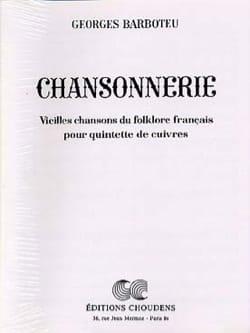 Chansonnerie Georges Barboteu Partition laflutedepan