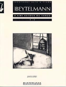 8 Airs Autour du Tango 1 - 2 Gustavo Beytelmann Partition laflutedepan