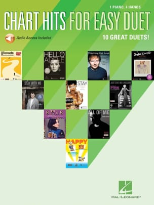 Chart Hits for Easy Duet Partition Piano - laflutedepan